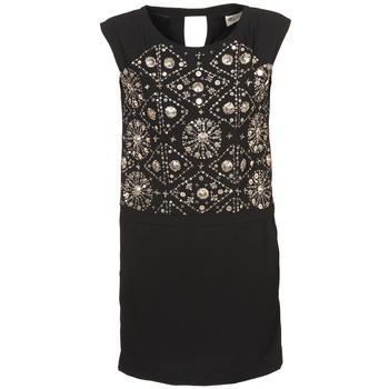 Kleidung Damen Kurze Kleider Stella Forest BRO040 Schwarz