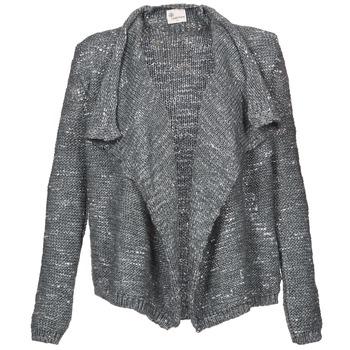 Kleidung Damen Strickjacken Stella Forest BGI002 Grau
