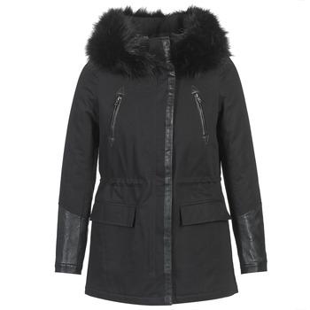 Vêtements Femme Parkas Moony Mood FOUINI Noir