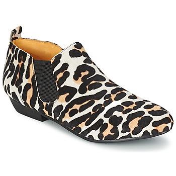 Schuhe Damen Boots Buffalo SASSY Leopard