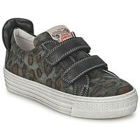 Scarpe Unisex bambino Sneakers basse Diesel JERMAN Grigio / Leopard