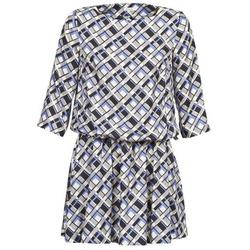 Abbigliamento Donna Abiti corti Manoush MOSAIQUE Grigio / Nero / Parme
