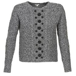 Vêtements Femme Pulls Manoush TORSADE Gris / Noir