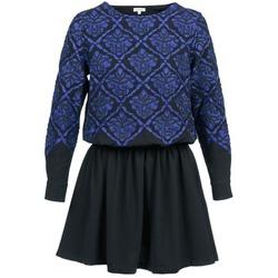 Vêtements Femme Robes courtes Manoush GIRANDOLINE Noir / Bleu
