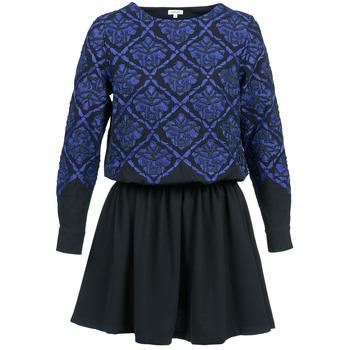 Abbigliamento Donna Abiti corti Manoush GIRANDOLINE Nero / Blu