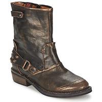 Schuhe Damen Boots Sans Interdit HASHLEY Zimt