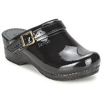 Schuhe Damen Pantoletten / Clogs Sanita FREYA Schwarz