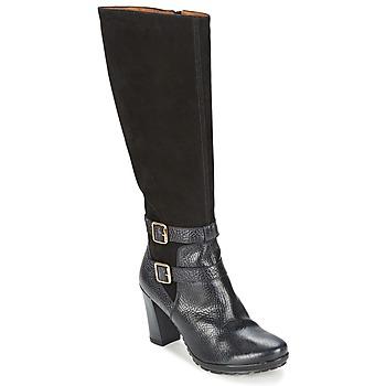 Schuhe Damen Klassische Stiefel Hispanitas ARIZONA Schwarz