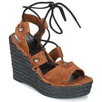 Schuhe Damen Sandalen / Sandaletten Sonia Rykiel 622908 Tabac