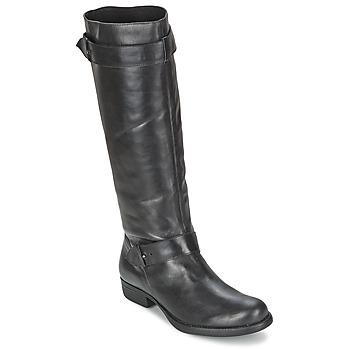 Schuhe Damen Klassische Stiefel One Step IANNI Schwarz