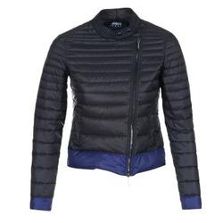 Vêtements Femme Doudounes Armani jeans BEAUJADO Noir / Bleu