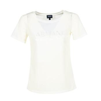 Kleidung Damen T-Shirts Armani jeans KAJOLA Weiß