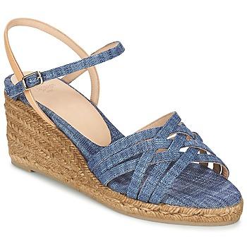 Schuhe Damen Sandalen / Sandaletten Castaner BETSY Blau / Beige