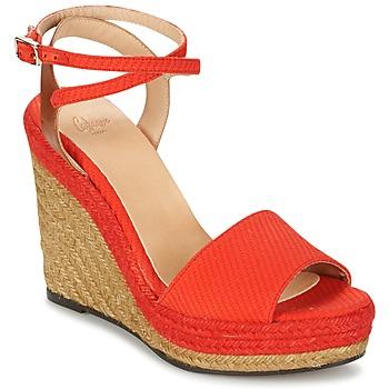 Chaussures Femme Sandales et Nu-pieds Castaner ADELA Rouge