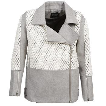 Vêtements Femme Manteaux Eleven Paris FLEITZ Gris / Beige