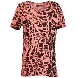 Kleidung Damen T-Shirts Religion HAWK Rot / Schwarz