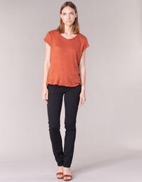 Abbigliamento Donna Pantaloni 5 tasche Pepe jeans VENUS Nero