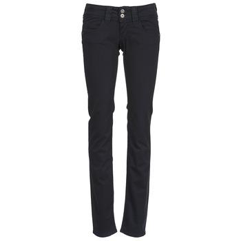 Kleidung Damen 5-Pocket-Hosen Pepe jeans VENUS Schwarz / Schwarz
