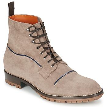 Schuhe Herren Boots Etro E174 Maulwurf