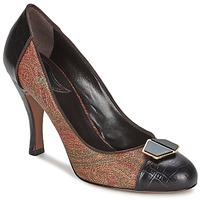 Schuhe Damen Pumps Etro 3074 Braun