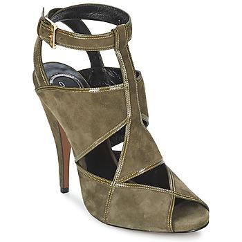 Schuhe Damen Sandalen / Sandaletten Etro 3025 Kaki