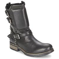 Schuhe Damen Boots Casual Attitude SERIS Schwarz