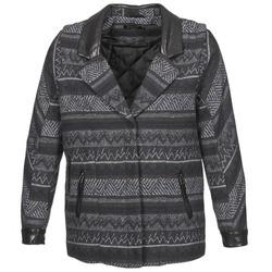 Vêtements Femme Manteaux Color Block ALTONA Noir