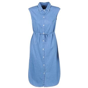 Abbigliamento Donna Abiti lunghi Loreak Mendian BAT ARKANSAS Blu
