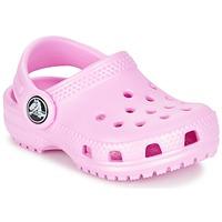 Schuhe Kinder Pantoletten / Clogs Crocs Classic Clog Kids Rose