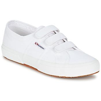 Schuhe Damen Sneaker Low Superga 2750 COT3 VEL U Weiß