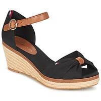 Schuhe Damen Sandalen / Sandaletten Tommy Hilfiger ELBA 40D Braun,
