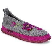Schuhe Damen Hausschuhe Giesswein TANGERHÜETTE Grau