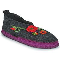 Schuhe Damen Hausschuhe Giesswein TANGERHÜETTE Anthrazit