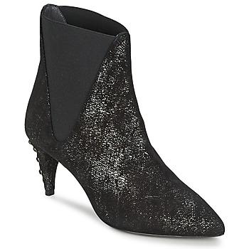 Schuhe Damen Low Boots Stéphane Kelian ELSA 7 Schwarz