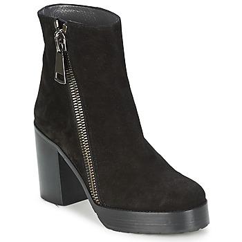 Schuhe Damen Low Boots Stéphane Kelian DANA 4 Schwarz