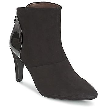 Schuhe Damen Low Boots Perlato STEFANIA Braun