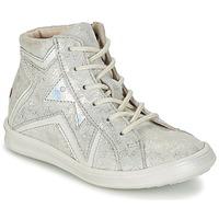 Scarpe Bambina Sneakers alte GBB PRUNELLA Grigio / Argento
