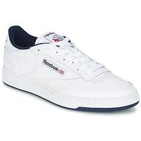 Chaussures Baskets basses Reebok Classic CLUB C 85 Blanc / Bleu