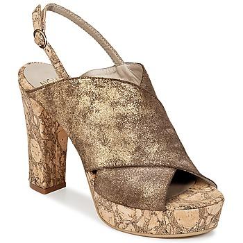 Chaussures Femme Sabots Now PALISSA Bronze