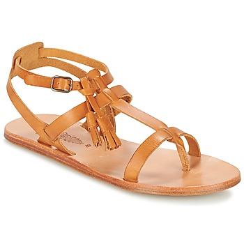 Schuhe Damen Sandalen / Sandaletten n.d.c. SORAYA Camel