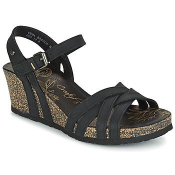 Schuhe Damen Sandalen / Sandaletten Panama Jack VERA Schwarz