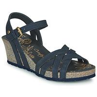 Schuhe Damen Sandalen / Sandaletten Panama Jack VERA Blau