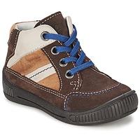 Schuhe Jungen Boots Superfit  Braun,