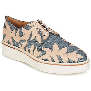 Schuhe Damen Derby-Schuhe Melvin & Hamilton MOLLY 11 Blau / Beige