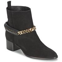 Schuhe Damen Low Boots Roberto Cavalli YPS542-PC519-05051 Schwarz