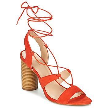 Chaussures Femme Sandales et Nu-pieds Mellow Yellow BRUNE Orange