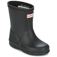 Chaussures Enfant Bottes de pluie Hunter KIDS FIRST CLASSIC Noir