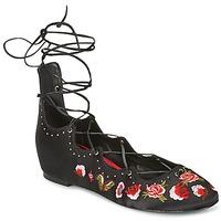 Chaussures Femme Ballerines / babies Ash INDRA Noir