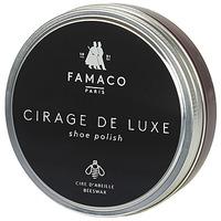 Accessoires Cirages Famaco BOITE DE CIRAGE DE LUXE BORDEAUX 100 ML Bordeaux