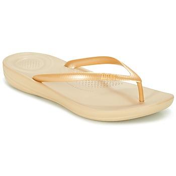 Chaussures Femme Tongs FitFlop IQUSHION ERGONOMIC FLIP-FLOPS Doré